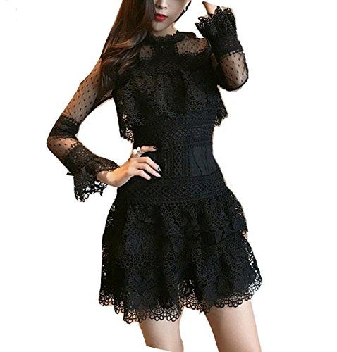 h and m black peplum dress - 4