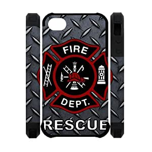 Firefighter iPhone 6 4.7 for kids Case Personalized Durable Firefighter Theme Case Cover