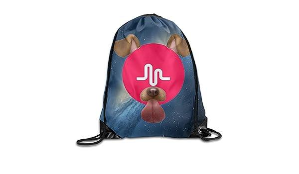 Babycu Music.ly Logo Unisex Drawstring Backpacks//Bags