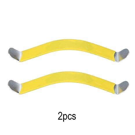 2 Pcs Cuerda de Esparcidor de Separador para Guitarra Cuerdas de Guitarra Práctica Spreaders con Revestimiento