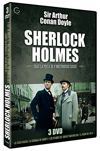 Sherlock Holmes - The Sign Of Four + The Empty House + The Abbey Grange + The Bruce Partington Plans (Region 2)