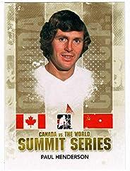 Paul Henderson (Hockey Card) 2011-12 ITG Canada vs The World Summit Series # SS-01 Mint