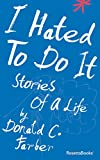Bargain eBook - I Hated to Do It