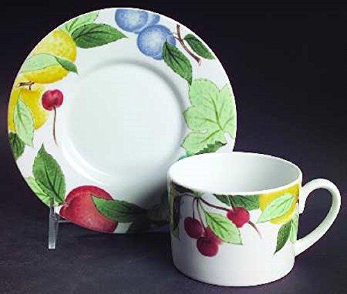 (Studio Nova Orchard Jewels China Flat Cup and Saucer)
