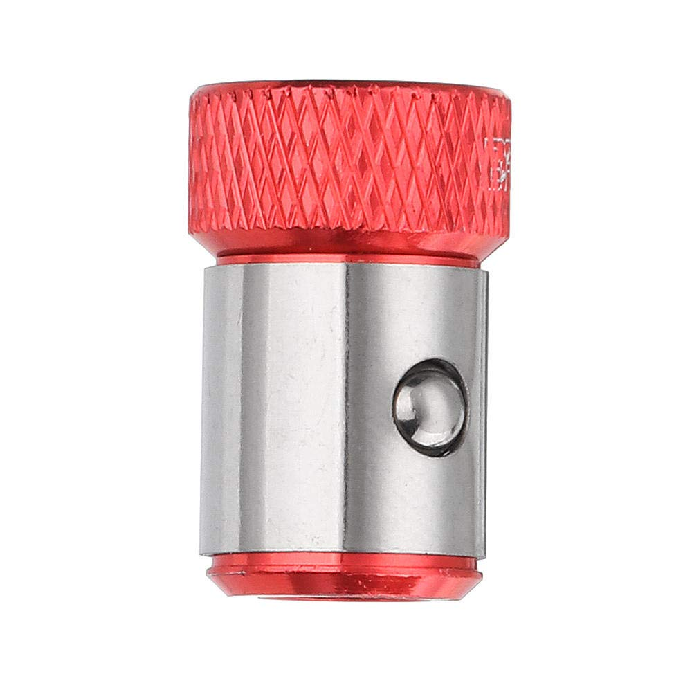 Destornillador magn/ético anillo para 6,35 mm v/ástago doble cabezales destornillador brocas COD