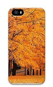 iPhone 5 5S Case Autumn maple leaves 3D Custom iPhone 5 5S Case Cover