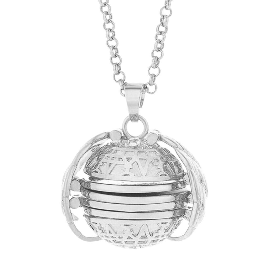 Amazoncom Xindda Pendant Expanding 4 Photo Locket Necklace Silver