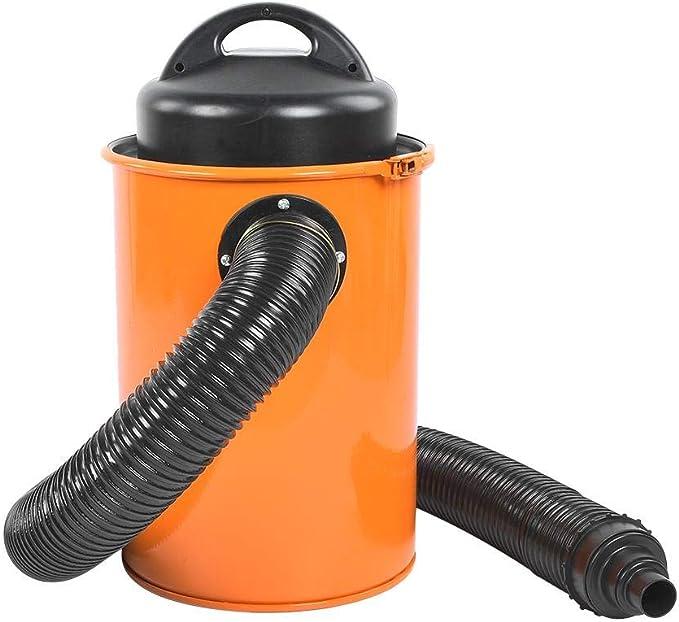 Aspirador de Bricolaje con Extractor 50L 1200W Filtración de 0.5 Micras, Aspiradora de Cenizas con Manguera de 2M Industrial: Amazon.es: Bricolaje y herramientas