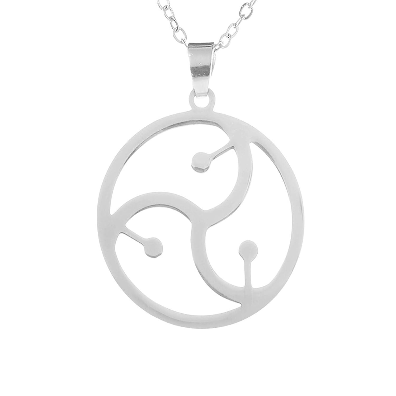 2pcs bdsm symbol pendant bondage jewelry sm emblem triskele sign 2pcs bdsm symbol pendant bondage jewelry sm emblem triskele sign jewelry amazon biocorpaavc Gallery
