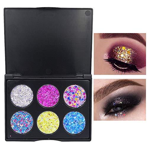 UOKNICE Eye Shadow for Women, Beauty Natural Colorful Shimmer Glitter Powder Palette Matte Cosmetic Makeup Eyeshadow Palette kit Brushes Lipstick Organizer Concealer Eyeliner Mascara