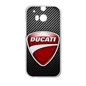 HTC One M8 Phone Case White DUCATI BF5982935