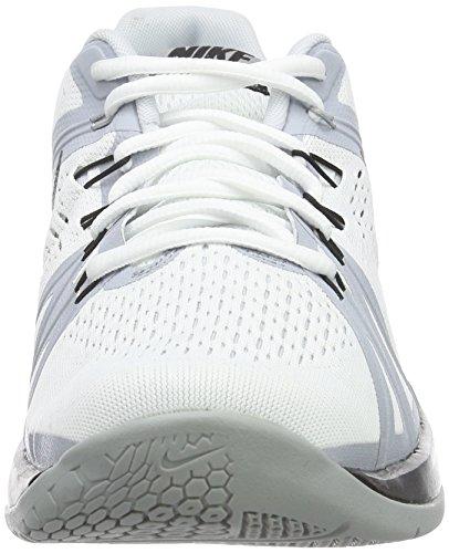 Nike Reax Lightspeed, Zapatillas de Deporte Para Hombre Blanco / Negro / Gris / Plata (White/Black-Wolf Grey-Pr Pltnm)