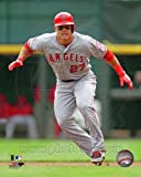 : Mike Trout Los Angeles Angels 2013 MLB Action Photo 8x10 #1