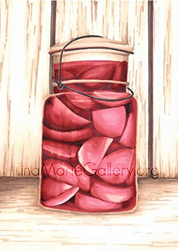 Pickled Beets by Tina Birkhoff