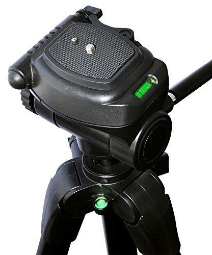 D7000 D800E D80 D3200 D4 D800 D600 D810A D5300 D90 D5100 D750 D7100 D3300 D70 D60 D3100 3 Piece Best Value Tripod Package for the Nikon D3000 D5000 D5200 D40 D610 D7200 D810 D50 D700 D4s /& COOLPIX L840 /& L830 D5500