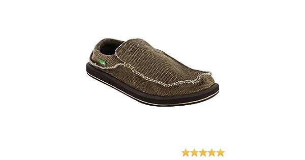 Amazon.com | Sanuk Mens Chiba Sidewalk Surfer Shoe (9 D(M) US / 42 EUR, Brown) | Shoes