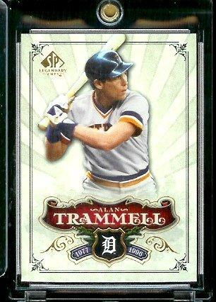 2006 Upper Deck SP Legendary Cuts # 88 Alan Trammell - Detroit Tigers - Baseball Trading Card ()