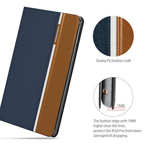 AUAUA iPad Mini 4 Case, iPad Mini 4 PU Leather Case with Smart Cover Auto Sleep/Wake +Screen Protector For Apple iPad Mini 4, 7.9 inch Apple Tablet (Mini 4, Brown) Photo #5