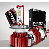 OPT7 Fluxbeam LED Headlight Kit w/ Clear Arc-Beam Bulbs - H13 (9008) - 80w 7,000Lm 6K Cool White CREE - 2 Yr Warranty