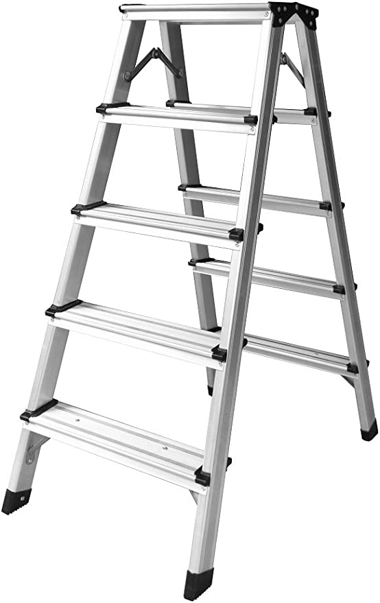 Profesional 6 – 14 peldaños de aluminio escalera Aumenta gleiter Escalera – Escalera caballete Escalera aluminio pintor Escalera: Amazon.es: Bricolaje y herramientas