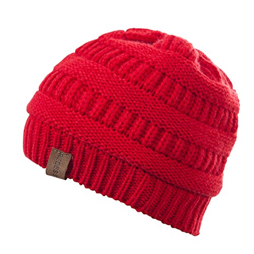 REDESS Baby Boy Winter Warm Fleece Lined Hat, Infant Toddler Kids Beanie Knit Cap Girls Boys [0-5years] by REDESS (Image #3)