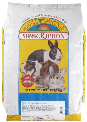 Sun Seed Company Sss13045 Vita Mix Daily Diet Rabbit Food, 25-Pound