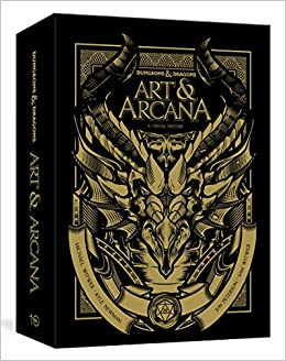 4c0da9030337db Dungeons and Dragons Art and Arcana [Special Edition, Boxed Book ...