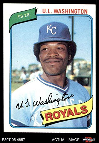 - 1980 Topps # 508 U.L. Washington Kansas City Royals (Baseball Card) Dean's Cards 7 - NM Royals