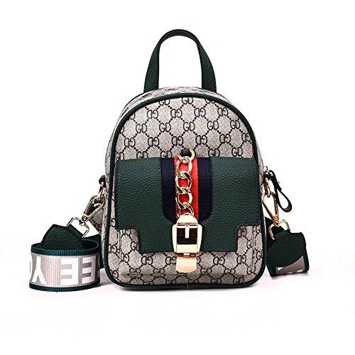 impression multifonction Green à nouvelle sac à bandoulière Filles féminin Top Sac Handle mode Totes Sacs main fronde 8qWazan