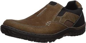 Nunn Bush Men's Quest Slip on Rugged Casual Loafer