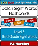 Dolch Sight Words Flashcards: Level 5 - Third Grade (LOOK BOOK Dolch Sight Word Series)