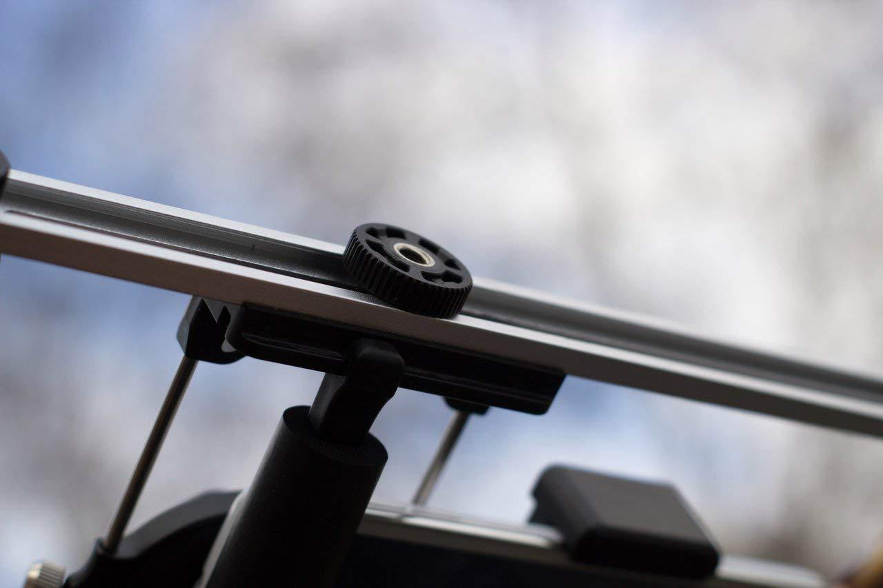 Double Boulon et connecteur de Rail Compatible avec la Plupart des Accessoires Photo//vid/éo et Extensions DREAMGRIP Kit de Connexion Original avec 4 boulons universels de 6,35 mm 2 /écrous