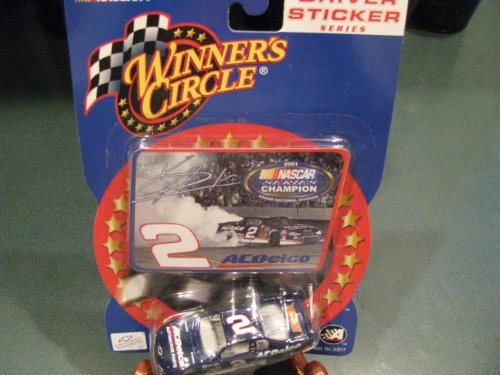 Kevin Harvick 2001 #2 AC Delco 1/64 Scale Grand National Division Champion Diecast Car & Bonus Photo Celebration Burn-Out Winners Circle -