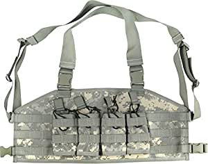 Specter Gear Rapid Reload Chest Carrier, Army ACU Camo, 5.56mm