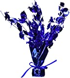 Graduate Cap Gleam 'N Burst Centerpiece (blue) Party Accessory  (1 count) (1/Pkg)