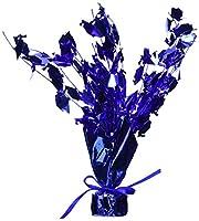 Graduate Cap Gleam 'N Burst Centerpiece (blue) Party Accessory  (1 count) (1/Pkg)