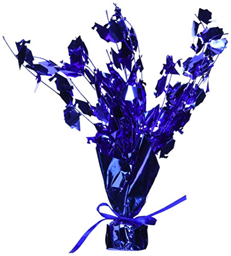 Graduation Cap Gleam 'N Burst Centerpiece (Blue) Party