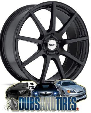 TSW Interlagos Matte Black Wheel (19x10.5