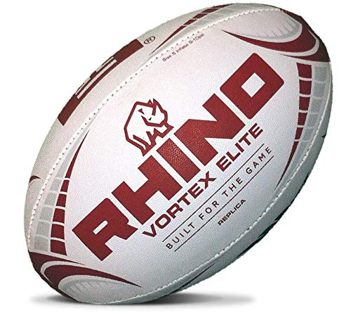 Rhino Rugby Temple Owls Full Size Rugby Ball