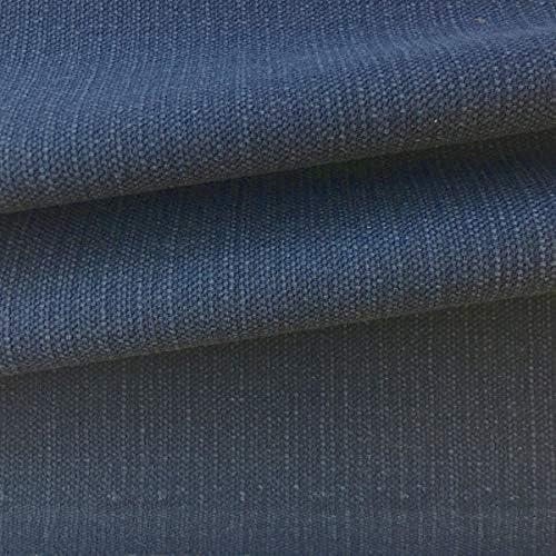 Tela de tapicería lisa - Panamá lino, algodón - Acabado desgastado ...