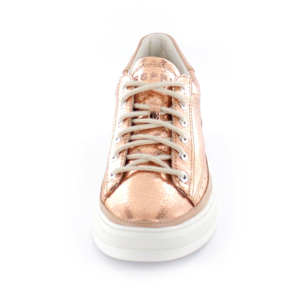 Esprit 076EK1W054275 Sidney Lace Up Damen Sneaker rot/ rot/ Sneaker pink/lila /orange b8fcb8
