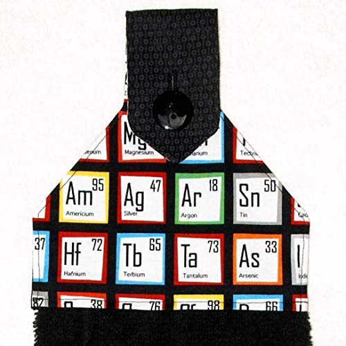 Bath Hand Towel - Periodic Table