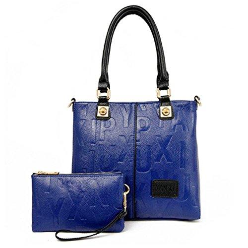 (Women Handbags Hobo Shoulder Tote PU Leather Large Capacity Bags )