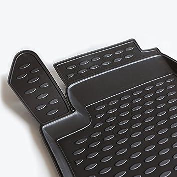 Novline MAT280 Custom Tailored Fit Black Rubber Boot Liner Tray Mat