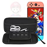 For Nintendo Switch NS Console Hard Shell Carrying Case EVA Storage Bag Protective Cover with Game Card Holder