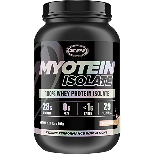 Cheap XPI Myotein Isolate (French Vanilla) 2LBS – Whey Protein Isolate – The Best Whey Protein Isolate Protein Powder