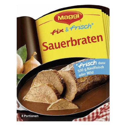 MAGGI fix & fresh sauerbraten (Sauerbraten) (Pack of 4)