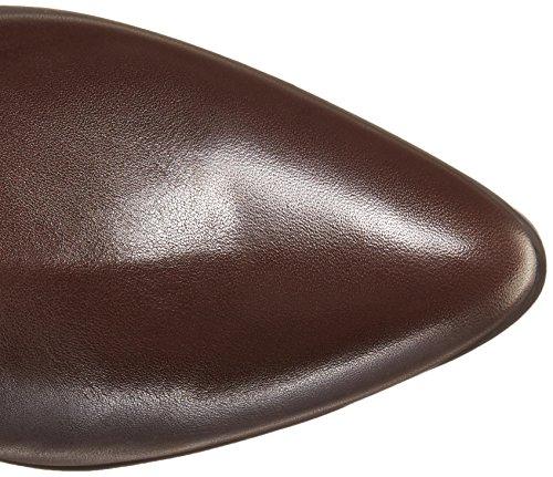 Brown Leather Dark Women's High West Diablo Knee Nine Boot vqn847F7Z