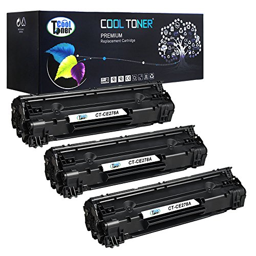 Cool Toner 3 Pack Compatible HP 78A CE278A CE278 Toner Cartridge Used For HP LaserJet Pro P1606DN P1606 M1536 MFP M1536DNF P1566 P1560