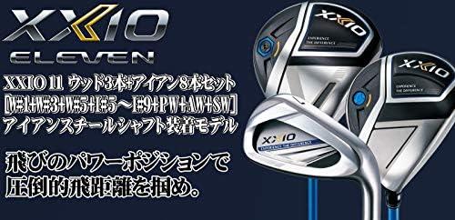 DUNLOP(ダンロップ) XXIO11 ゼクシオ11 ゼクシオ イレブン メンズ ゴルフクラブセット ウッド3本+アイアン8本セット [アイアンスチールシャフト] ネイビー メンズ ゴルフクラブ フルセット